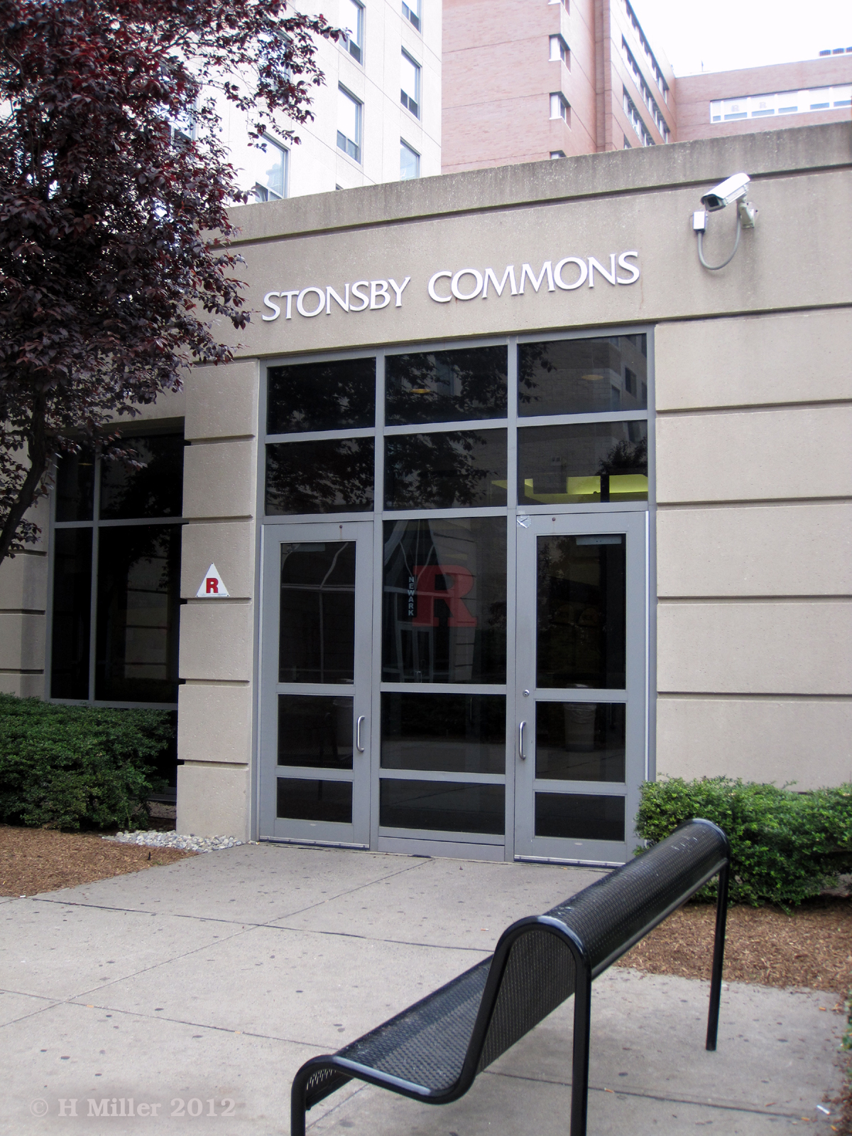 Stonsby Commons Entrance at Rutgers Newark